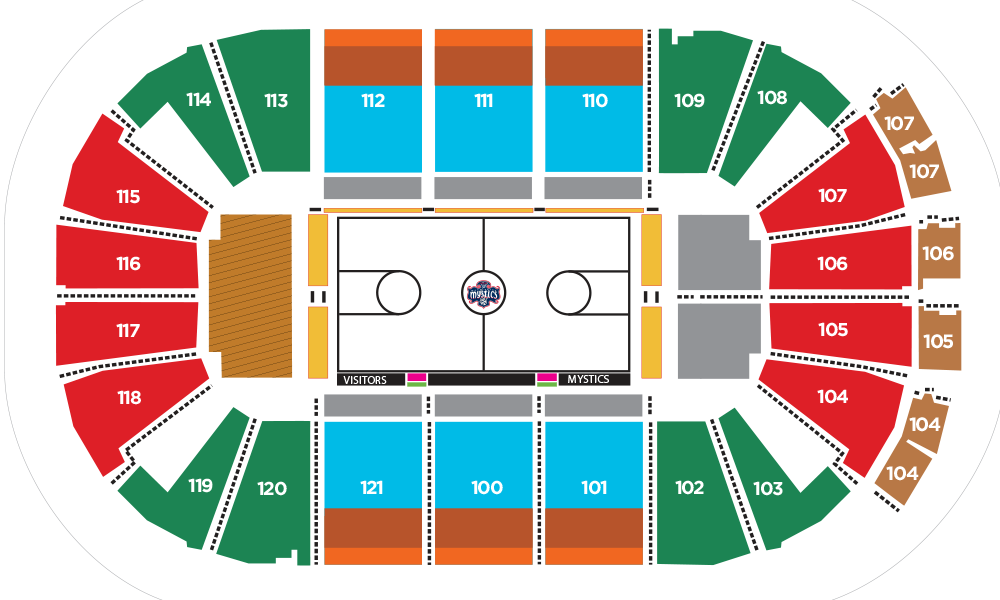 2018 seating chart